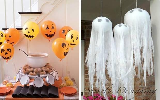 Ideas para decorar tu casa en halloweenpalacios for Decoracion de calabazas manualidades