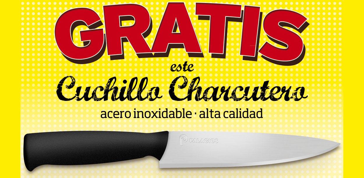 Gratis un Cuchillo Charcutero por la compra de una sarta de Chorizo Extra