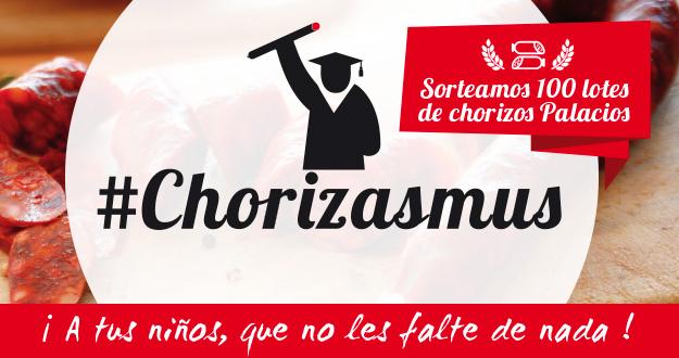 Participa en #Chorizasmus, nuestro nuevo sorteo en Facebook